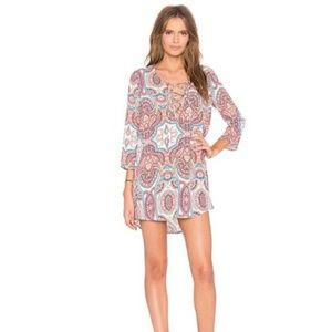 Show Me Your MuMu Lulu Tunic in Esmuralda Print